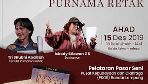 """Novel """"Purnama Retak"""" Subhi Dibahas di Lampung"""