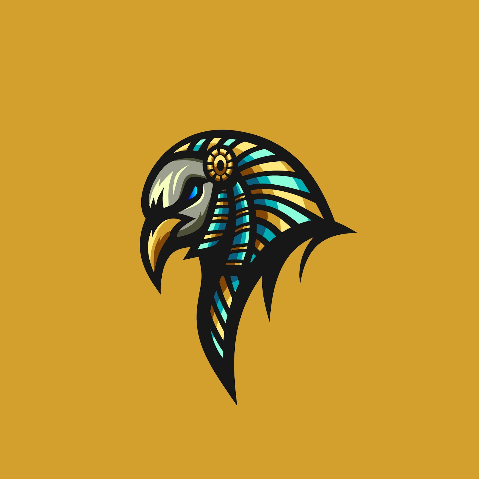 Bird Anubis Vector Premium Free Download Vector CDR, AI, EPS and PNG Formats