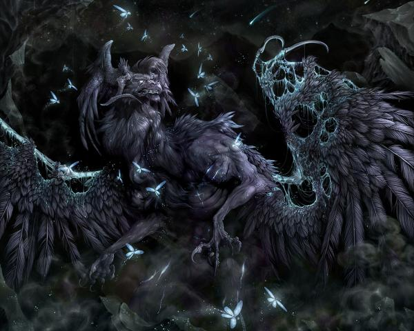 Butcherly Monster Of Night, Evil Creatures