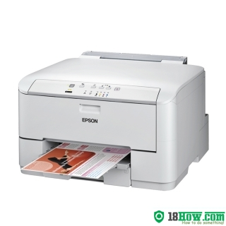 How to reset flashing lights for Epson WorkForce WP-4022 printer