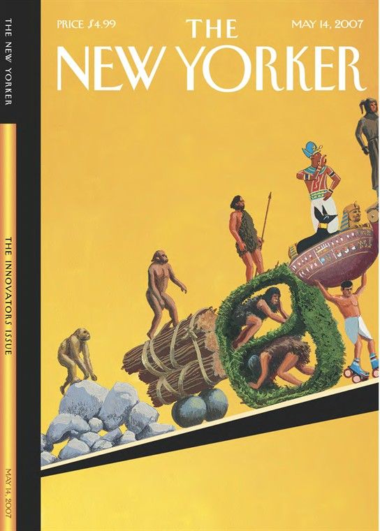 New Yorkers Covers About Ascent Of Man >> Bruce Mccall The New Yorker Covers Page 5