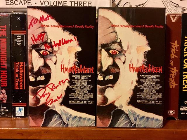 VHS Hauntedweek VHS release