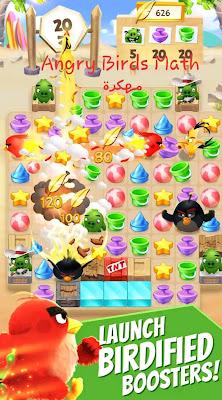 تحميل لعبة Angry Birds Match مهكرة