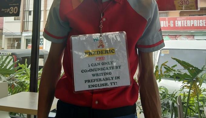 PWD, binibigyan pa rin ng trabaho ng Jollibee! - Teachers ng Pinas