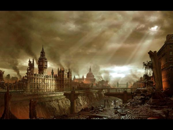 Ruins Of Great City, Magical Landscapes 1