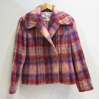 Carolina Herrera Plaid Jacket