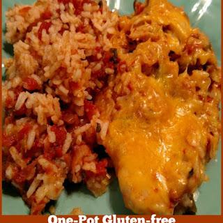 One-Pot Gluten-Free Salsa Chicken and Rice Recipe