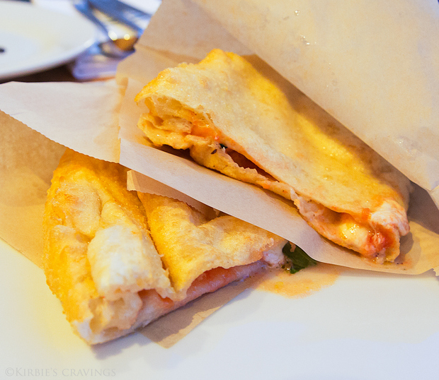photo of Margherita Pizza Fritta