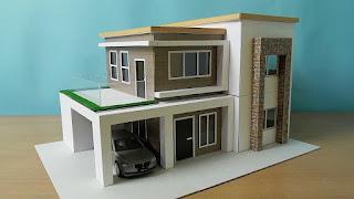 Miniatur Rumah Termasuk Hasil Karya Seni Rupa Terapan dalam Bentuk
