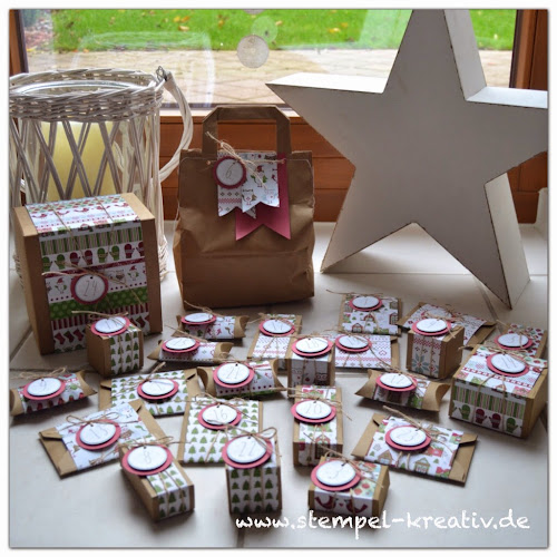 Stampin up Adventskalender