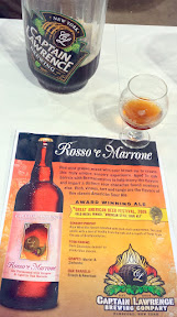 Great sours from Captain Lawrence Brewing Company such as this Rosso e Marron