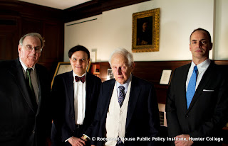 Former NY District Attorney Robert M. Morgenthau in conversation with Kirk Semple