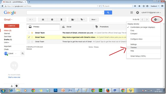 Gmail-themes