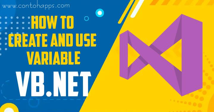 Cara Deklarasi Variabel VB.Net dan Penggunaannya