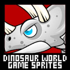 Dinosaur World Game Sprites