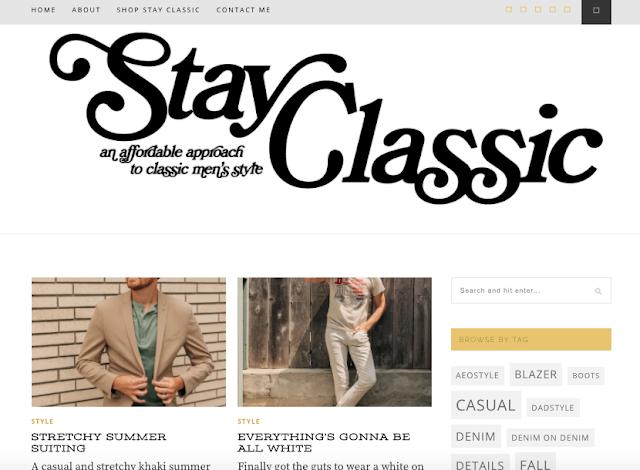 Uma abordagem acessível para estilos masculinos clássicos