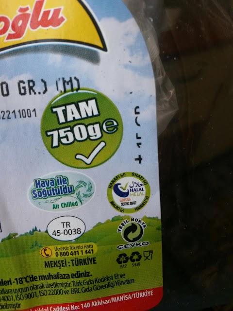 Logo Halal Produk Makanan di Turki
