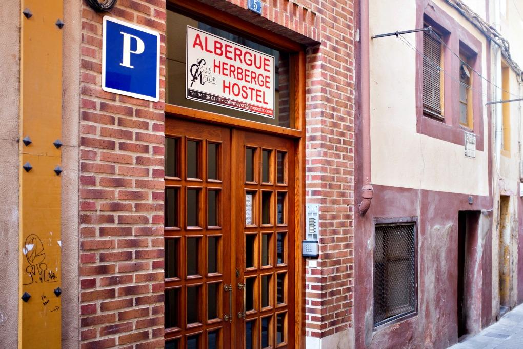 Albergue de peregrinos Calle Mayor, Nájera, La Rioja, Camino de Santiago