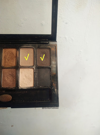 Eyeshadow the nudes pallete Maybelline