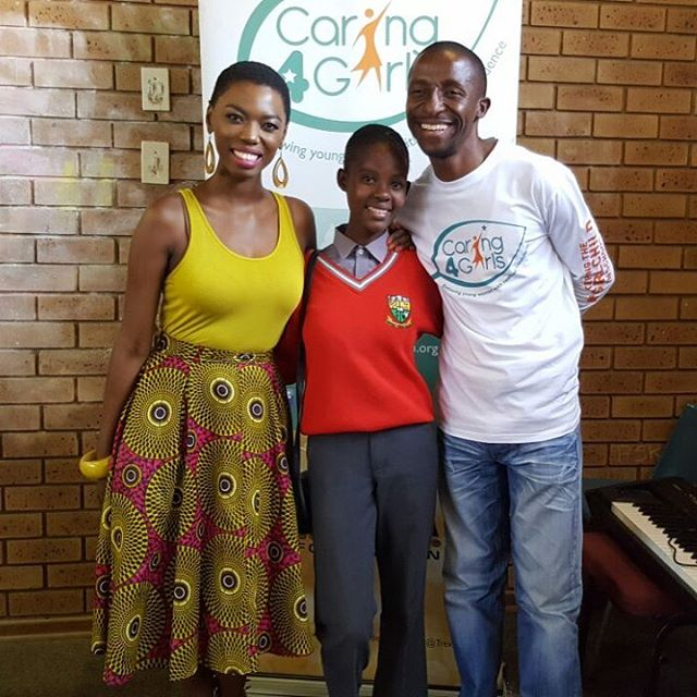 Lira Book A High School Girl To Sing At Trek For Mandela.