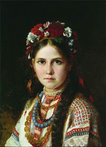 Николай Рачков Девушка-украинка. Вторая половина XIX века.jpg