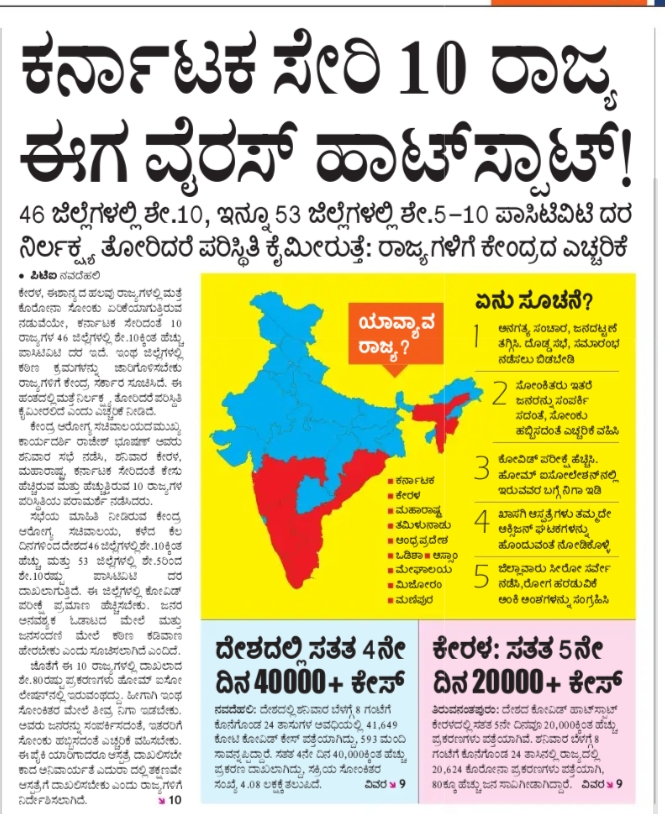 Date: -01-08-2021 Latest News Current Paper Cuttings