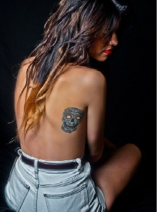 azul_pequena_de_açcar_crnio_tatuagem_para_as_meninas