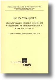 Eltschinger et al.: Can the Veda speak?