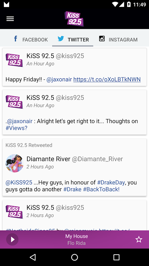KiSS 92.5 Toronto- screenshot