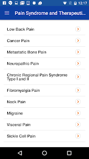 Pain Drugs Handbook- screenshot thumbnail