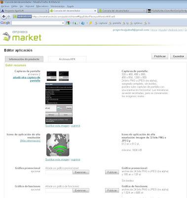 Publicar aplicación Android en Google Android Market