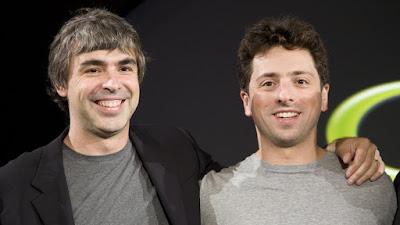 Larry Page dan Sergey Brin Pendiri Google