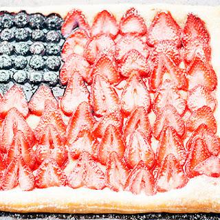 Mixed Berry Puff Pastry Tart.