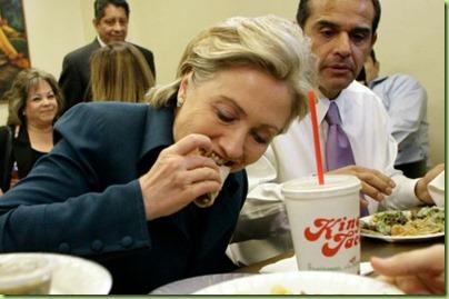 Hillary tamale taco