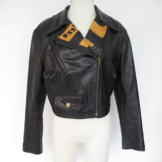 Moschino Cheap and Chic Leather Jacket