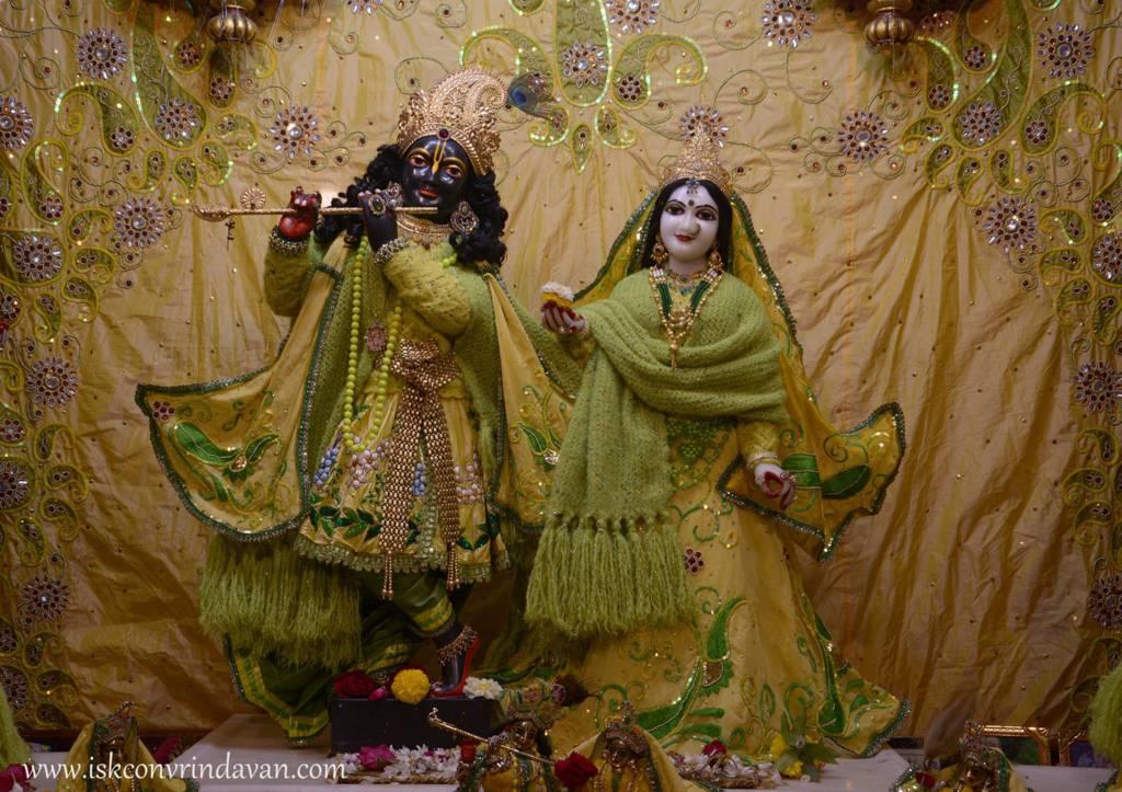 ISKCON Vrindavan Mangal Deity Darshan 29 Jan 2016 (2)