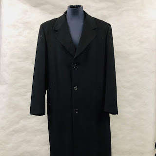 **Clearance** Burberry Black Overcoat