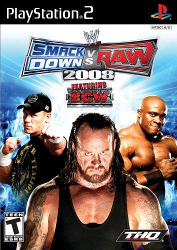 WWE SMAKDOWN VS RAW 2008
