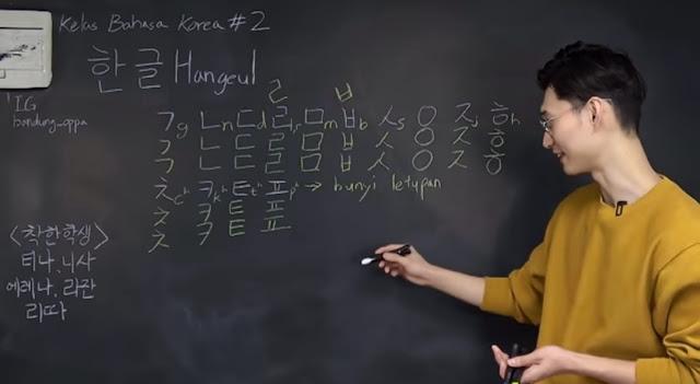 Kelas Bahasa Korea