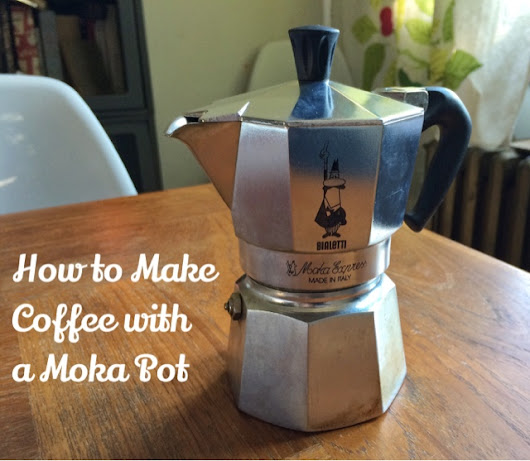DEAD CHEF: MINI HOLIDAY GIFT GUIDE: BIALETTI MOKA POT (AND TUTORIAL)