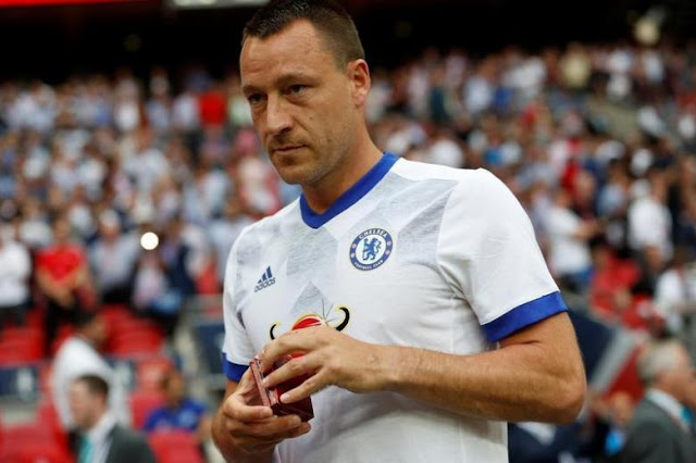 Former Chelsea Captain Terry Signs for Aston Villa