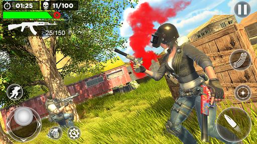 Critical Fire Free Battlegrounds Strike  captures d'écran 1