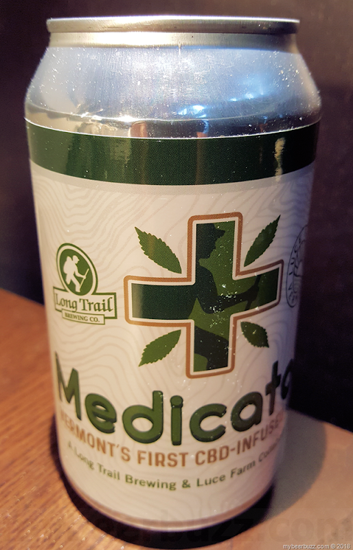 Mybeerbuzz .com Highlights Long Trail Medicator CBD-Infused Beer