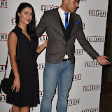 OIC - ENTSIMAGES.COM - Cally Jane Beech and Luis Morrison  at the  Mr Calzaghe - gala film screening in London 18th November 2015Photo Mobis Photos/OIC 0203 174 1069
