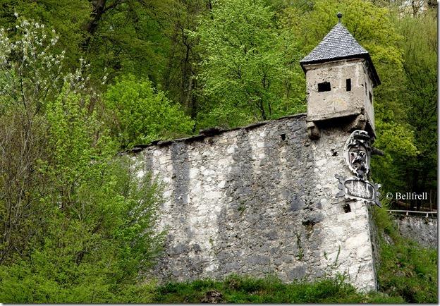 Wehrturm Kapuzinerberg ober Äußerem Stein