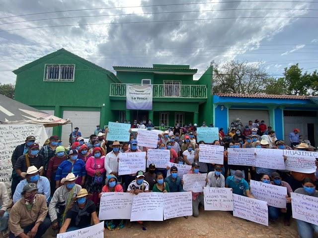 Usurpadora de candidatura indígena violenta elección en La Yesca, Nayarit.