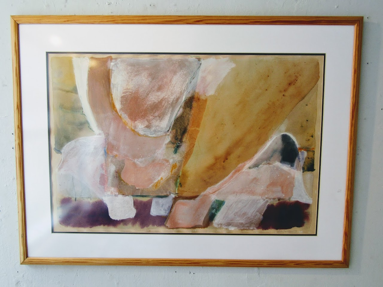 Meg Hannan Large Abstract Painting