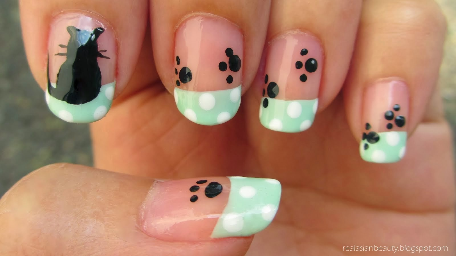 Nail Art Design Animals Step By