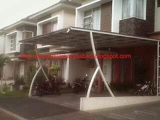 gambar canopy minimalis polycarbonate