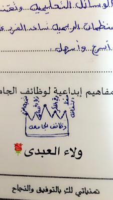 خرائط مفاهيم إبداعية من رسم الطالبات